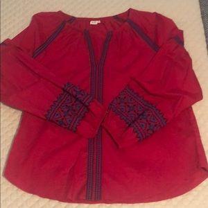 Bohemian blouse sz M